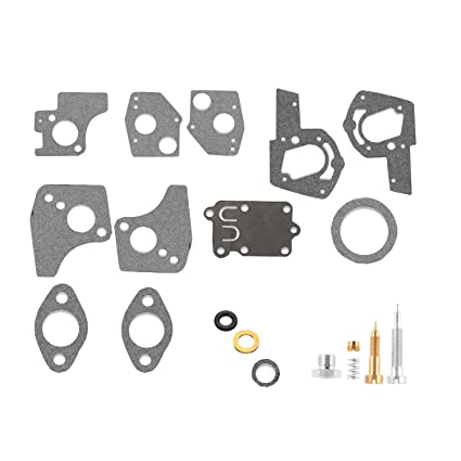 Ketofa 495606 Carburetor Carb Overhaul Rebuild Kit Replace Briggs &  Stratton 495606 494624 Carb 5hp Horizontal Engines