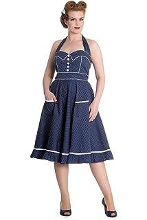 Hell Bunny Kleid MERIAM DRESS blue