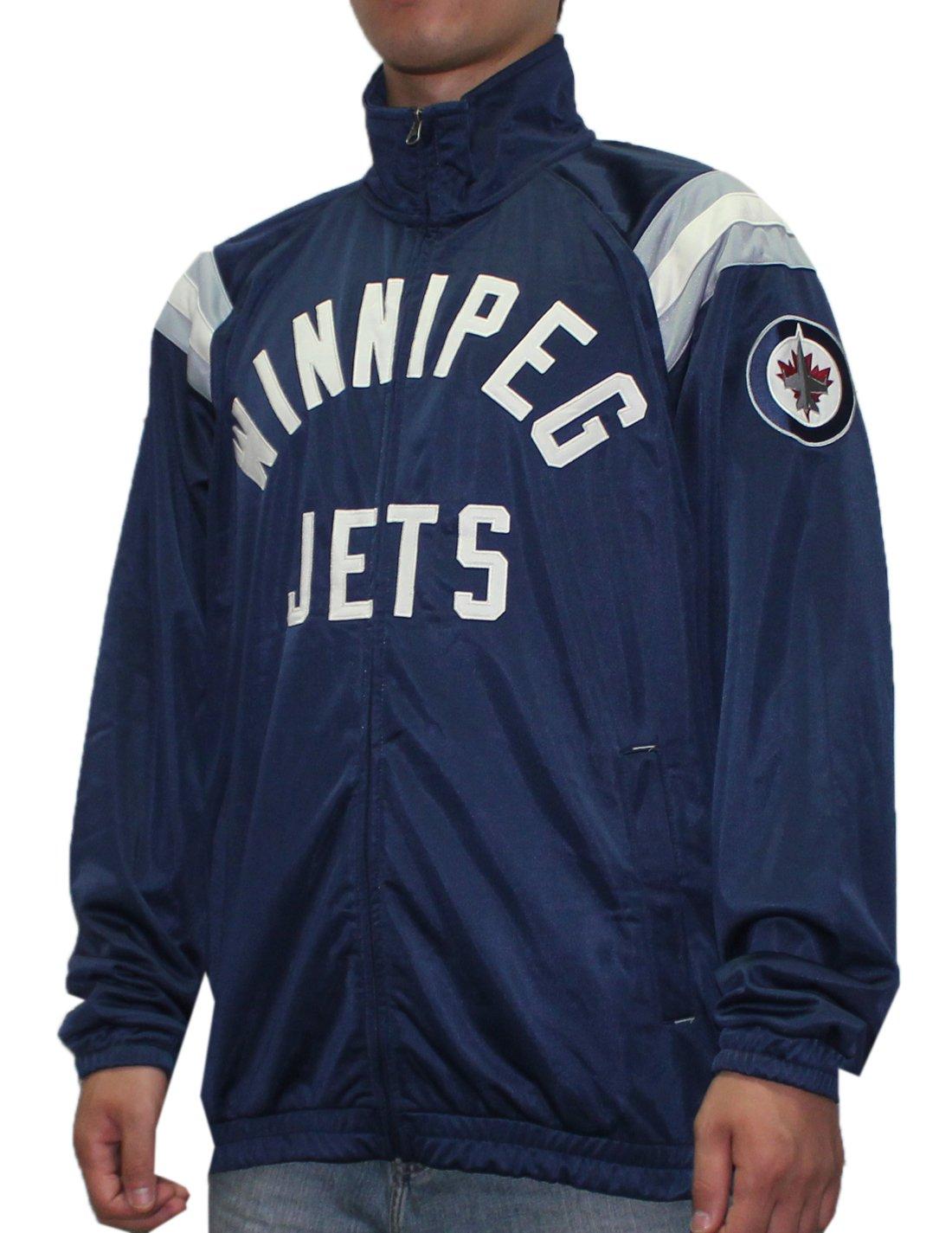 Winnipeg Jets NHL Mens atlético con cremallera chaqueta de ...