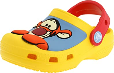 6012c84d647c86 Crocs Winnie the Pooh   Tigger Clog (Toddler Little Kid)
