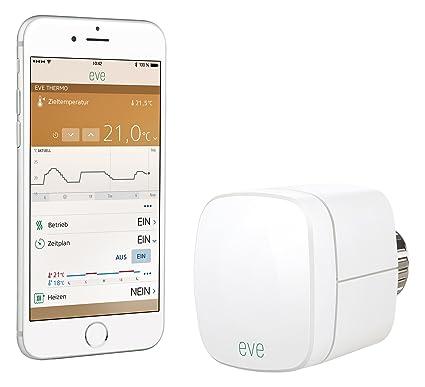 Elgato 1ET109901000 Válvula termostática del radiador, Color Blanco