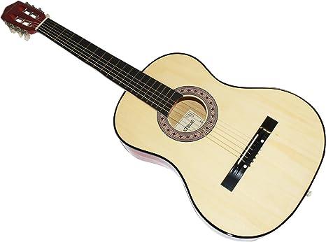 Cher rystone 0754235506256 4/4 escolar acústica Guitarra de ...