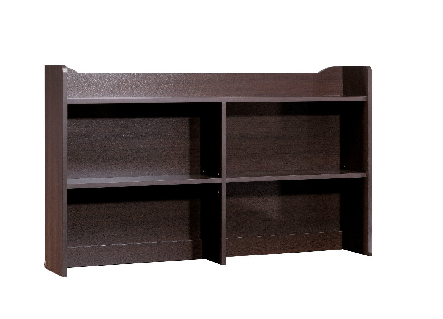 Pocono Bookcase Hutch (for 4606) 4609 from Nexera, Espresso