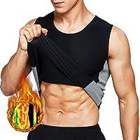 Tooklanet Overhemd voor heren, zweetvest, neopreen, sauna, taille trainer, bodyshaper, afslanken, workout, tank tops…