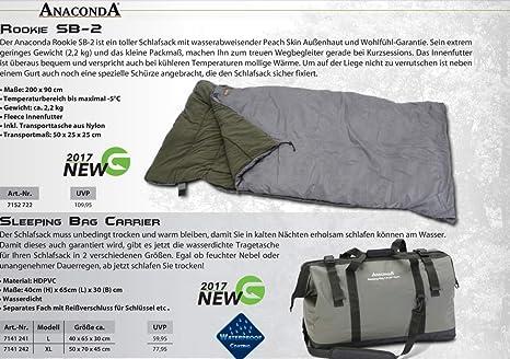 Saco de dormir – Anaconda Rookie SB de 2