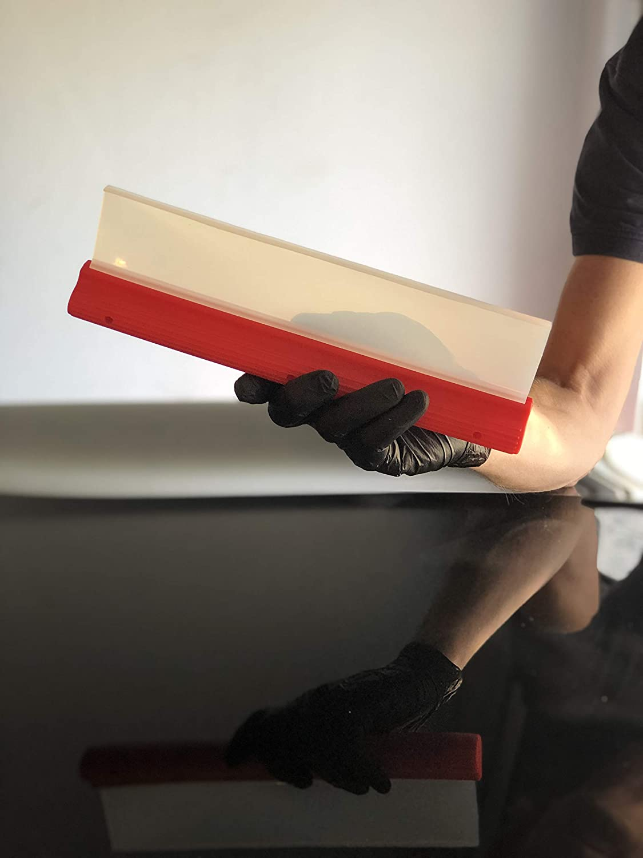 pour carrosserie et vitres de voiture raclette pour lentretien de la voiture /à passer apr/ès le lavage Raclette Glart en silicone pour voiture