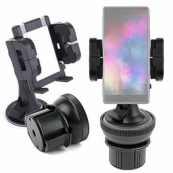 DURAGADGET Soporte De Coche para Smartphone Maze Alpha X + Base para Posavasos + Soporte con Ventosa: Amazon.es: Electrónica