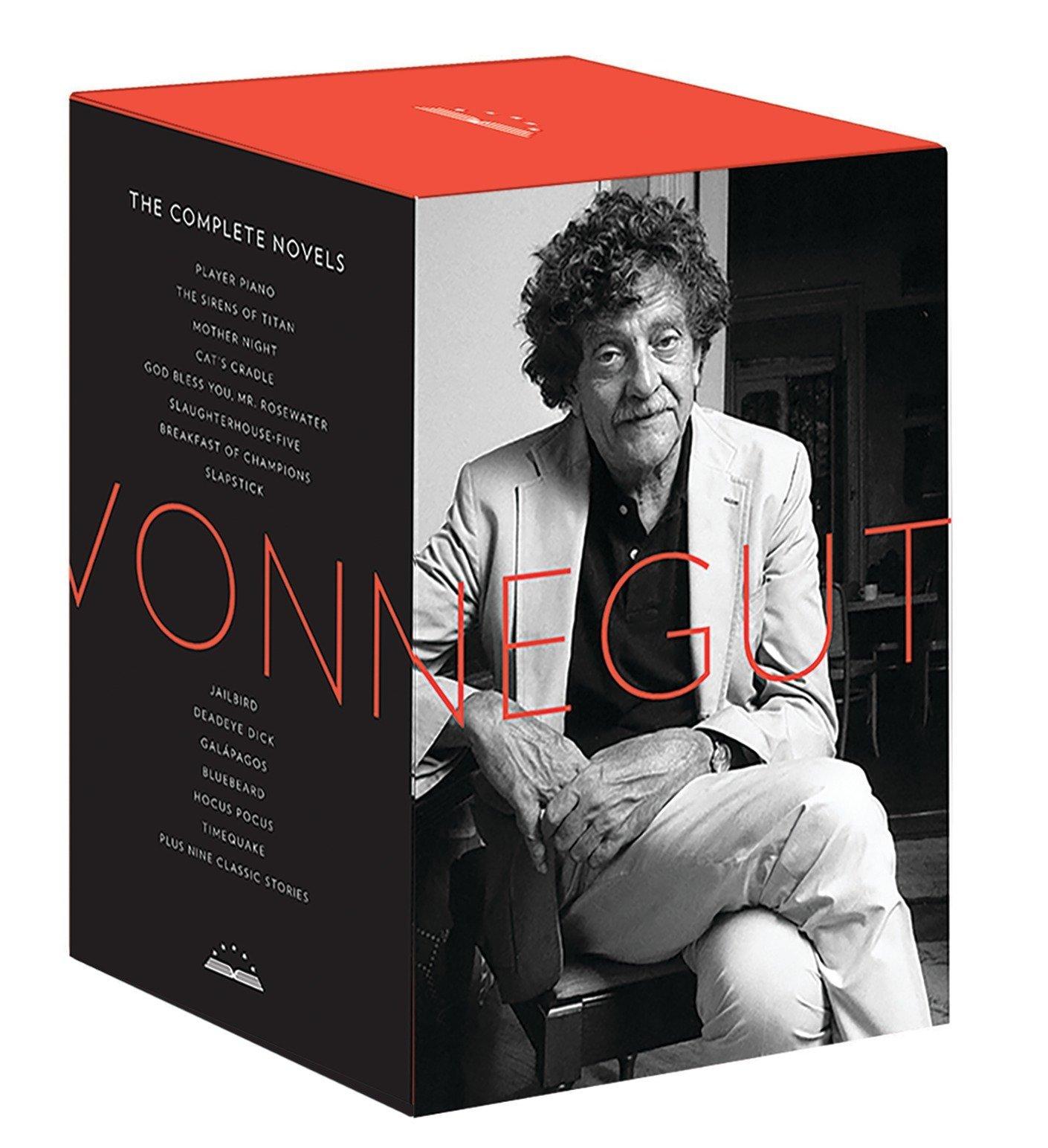 Kurt Vonnegut: The Complete Novels: A Library of America Boxed Set