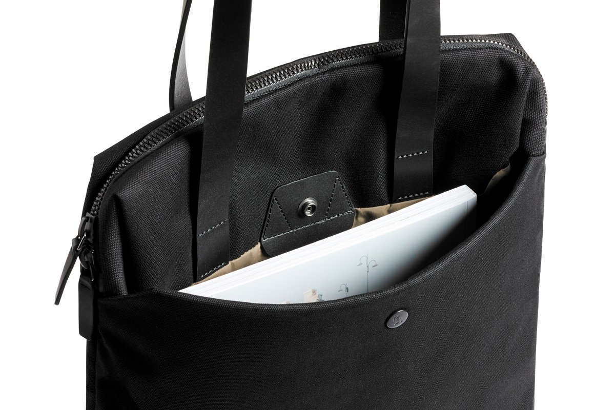Bellroy Slim Work Tote (13 liters, 15'' laptop)-Black by Bellroy (Image #5)