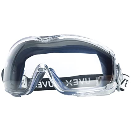 bf21d11c6b9 Uvex Stealth OTG Safety Goggles with Anti-Fog Anti-Scratch Coating ...