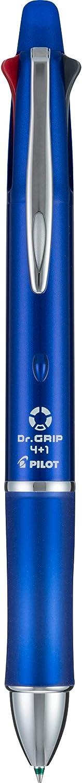 Fine Point Grip 4+1 Multi-Function Refillable /& Retractable Ballpoint Pen Single Pen 36220 PILOT Dr Black//Red//Blue//Green Inks - 1 Black Barrel Pencil