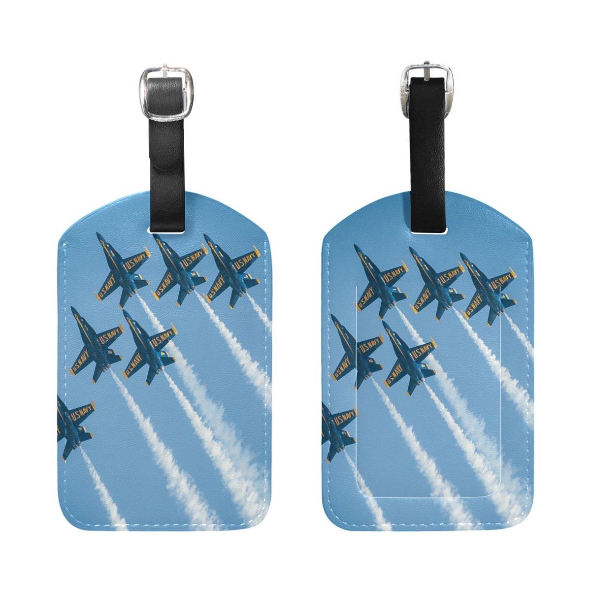 1Pcs Saobao Travel Luggage Tag Jet Plane PU Leather Baggage Suitcase Travel ID Bag Tag