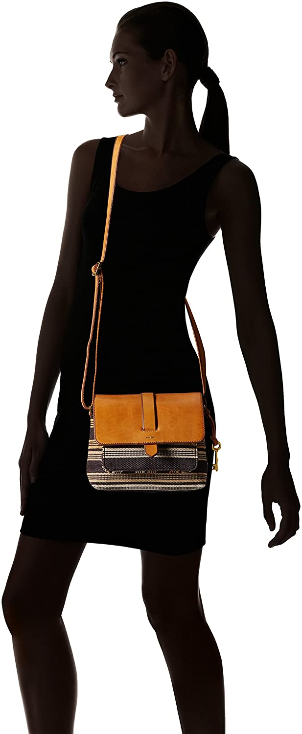 Fossil Kinley Small Crossbody Bag Brown One Size