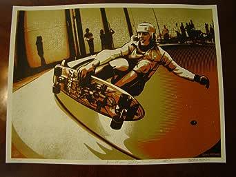 Jim Muir Skateboard Art Print Jim Muir Fairey 2009 at
