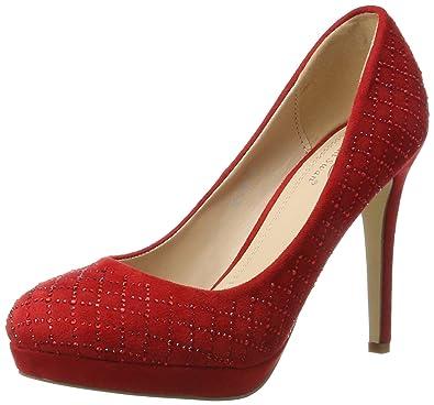 Ital-design - Chaussures En Plastique Pour Les Femmes, Rouge, Taille 38 Eu