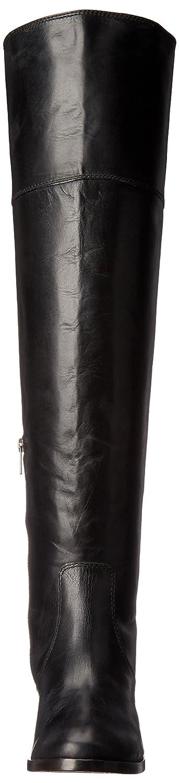 FRYE Women's Clara OTK Leather Slouch Boot B01AA8N98G 6.5 B(M) US|Black Extended Calf
