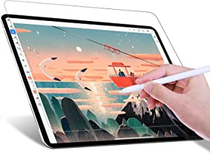 JETech Paperfeel Screen Protector for iPad Pro 12.9-Inch (2020 and 2018 Model), Anti-Glare, Matte PET Paper Texture Film for Drawing