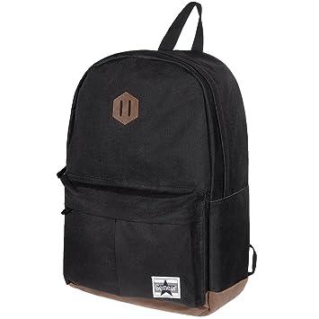 Gemeer Mochila Escolar,Mochila Hombre,Mochila Laptop,resistente al agua, Material de poliéster para Laptop de 15 Pulgadas, para Estudiante Colegio ...