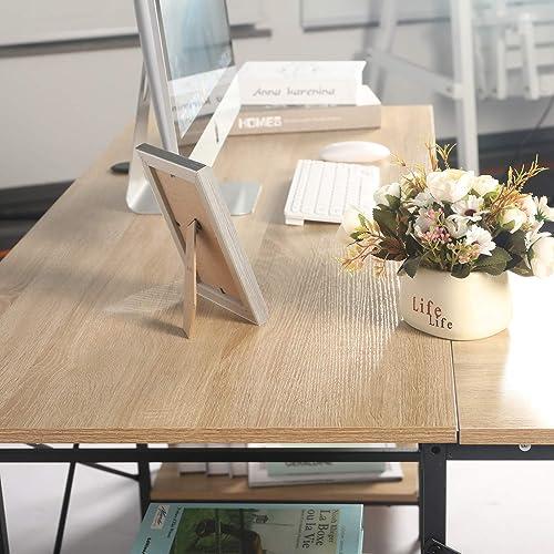L-Shaped Desk Modern Office Desk  - the best modern office desk for the money