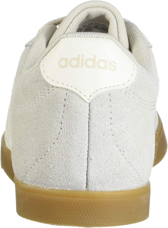 adidas Courtset, Tennis Femme Blanc Brut Blanc Nuage Gomme