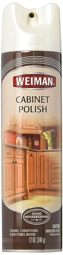 Amazon.com: WEIMAN Wood Panel & Cabinet Polish 12 oz.: Home ...