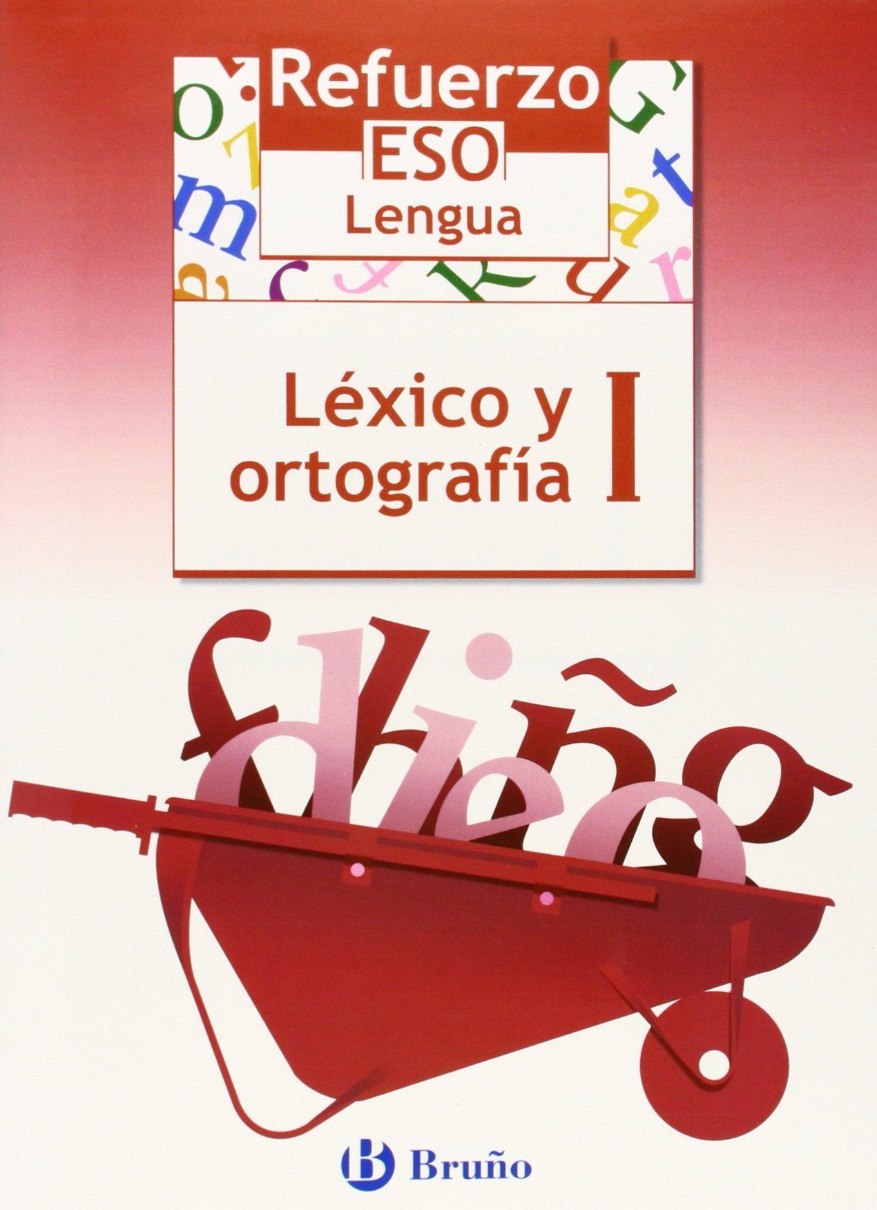 Refuerzo Lengua ESO Léxico y ortografía I: 1 Castellano - Material Complementario - Refuerzo Lengua Eso - 9788421651056: Amazon.es: Jesús Gómez Picapeo, ...