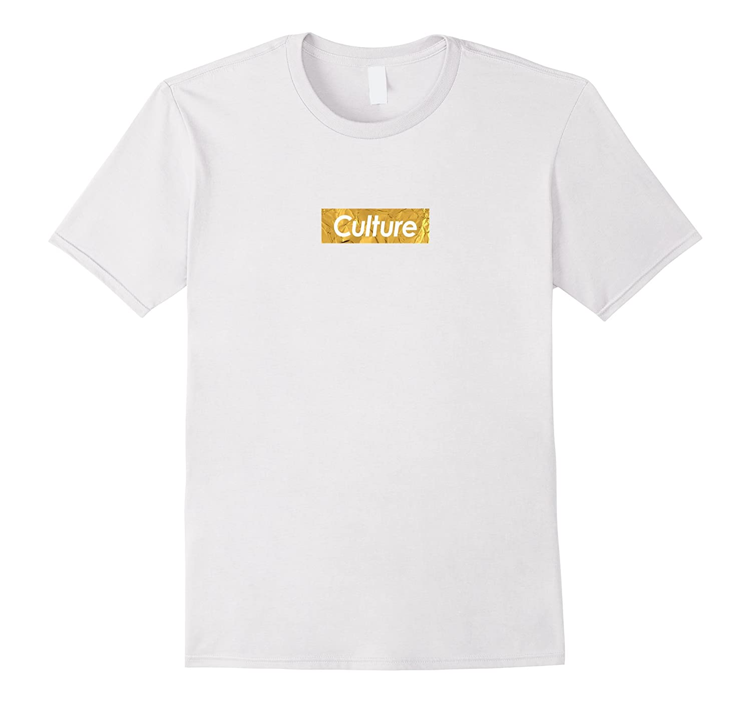 Mens C Migos Culture Red Logo Box T-Shirt  Fitted-TD