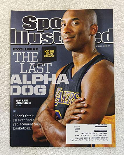 e89d12de569 Kobe Bryant - Los Angeles Lakers - The Last Alpha Dog - Sports Illustrated  - October