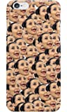 Kardashian Kim Kylie Jenner Kendall ugly Kim plastic case / cover for Apple Iphone 6 and 6s design made by LuxuryHunters ® (Iphone 6 & 6s)