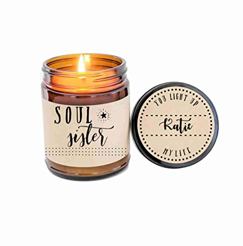 Amazon Soul Sisters Gift Soy Candle For BFF Friend