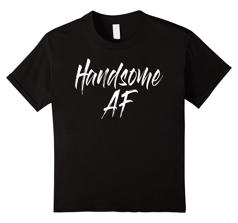 Mens Handsome AF TShirts Navy-Xalozy