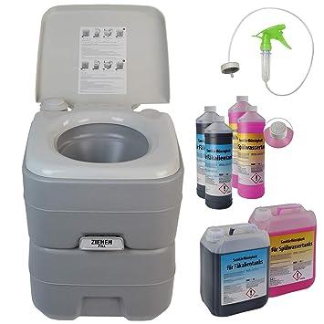 Wc Chimico Con Lavabo.Bb Sport Toilette Portatile Wc Chimico 20l Opzionalmente Disponibili Liquido Sanitario