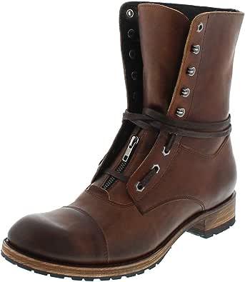 Sendra Boots Sascha Evolution Tang 12334 - Botas de cordones para hombre, color marrón