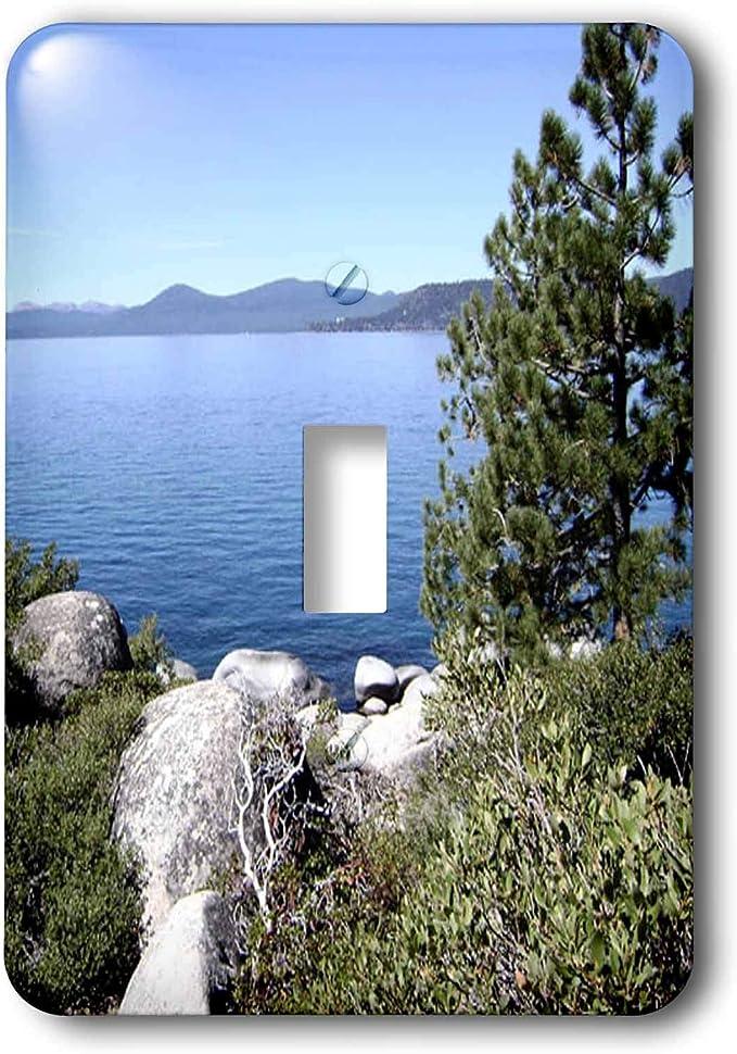 3drose Lsp 26408 1 Lake Tahoe Nevada No 2 Toggle Switch Multi Color Switch Plates Amazon Com