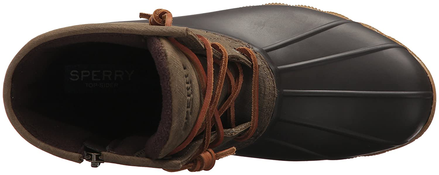 Sperry Boot Women's Saltwater Boot Sperry B01MT16F8E 5.5 B(M) US|Brown/Olive 5369b4