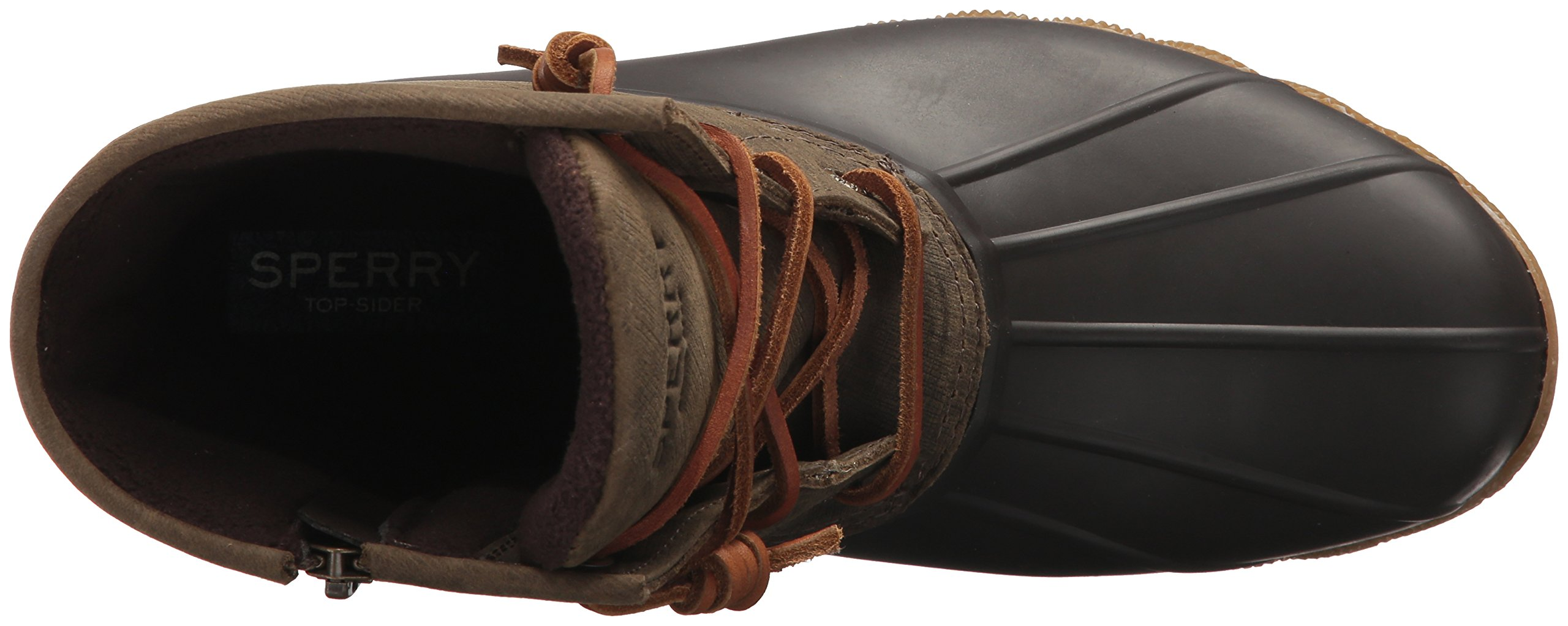 Sperry Top-Sider Women's Saltwater Rain Boot, Brown/Olive, 11 Medium US by Sperry Top-Sider (Image #8)