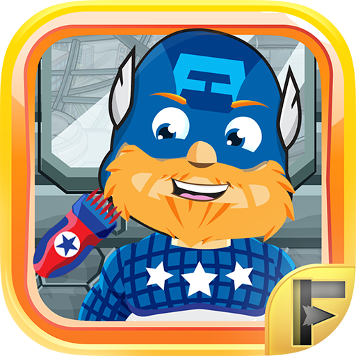 Superhero Shave Salon - Free Fun Comic Games For (Amazing Hulk Costumes)