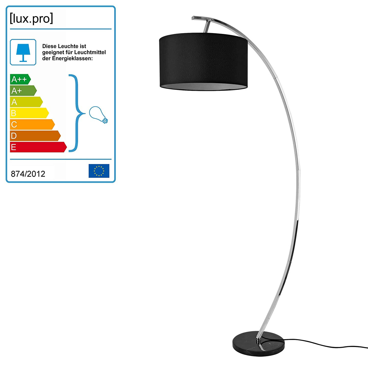 60w Stehlampe Design Standleuchte Industrial Stand Lampe Metall