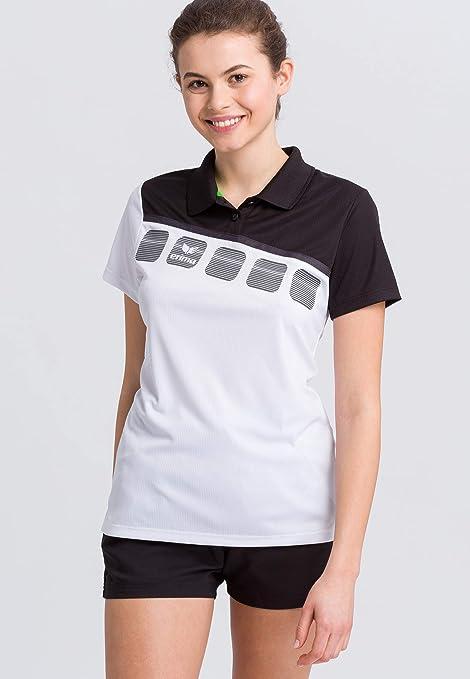 Erima GmbH 1111913 Polo de Tenis, Mujer: Amazon.es: Deportes y ...