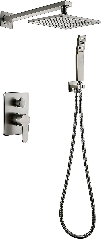 Brushed Nickel Shower Faucet