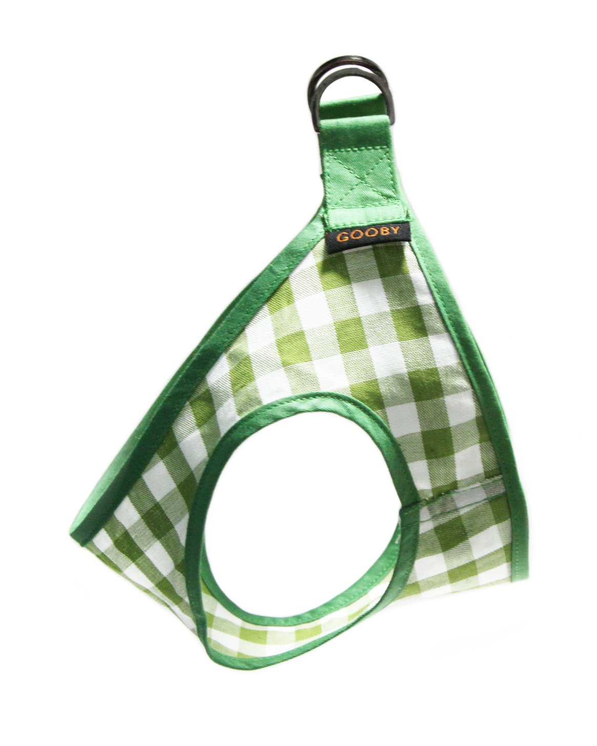 Xl Gooby Picnic Dog Harness, X-Large, Green Check
