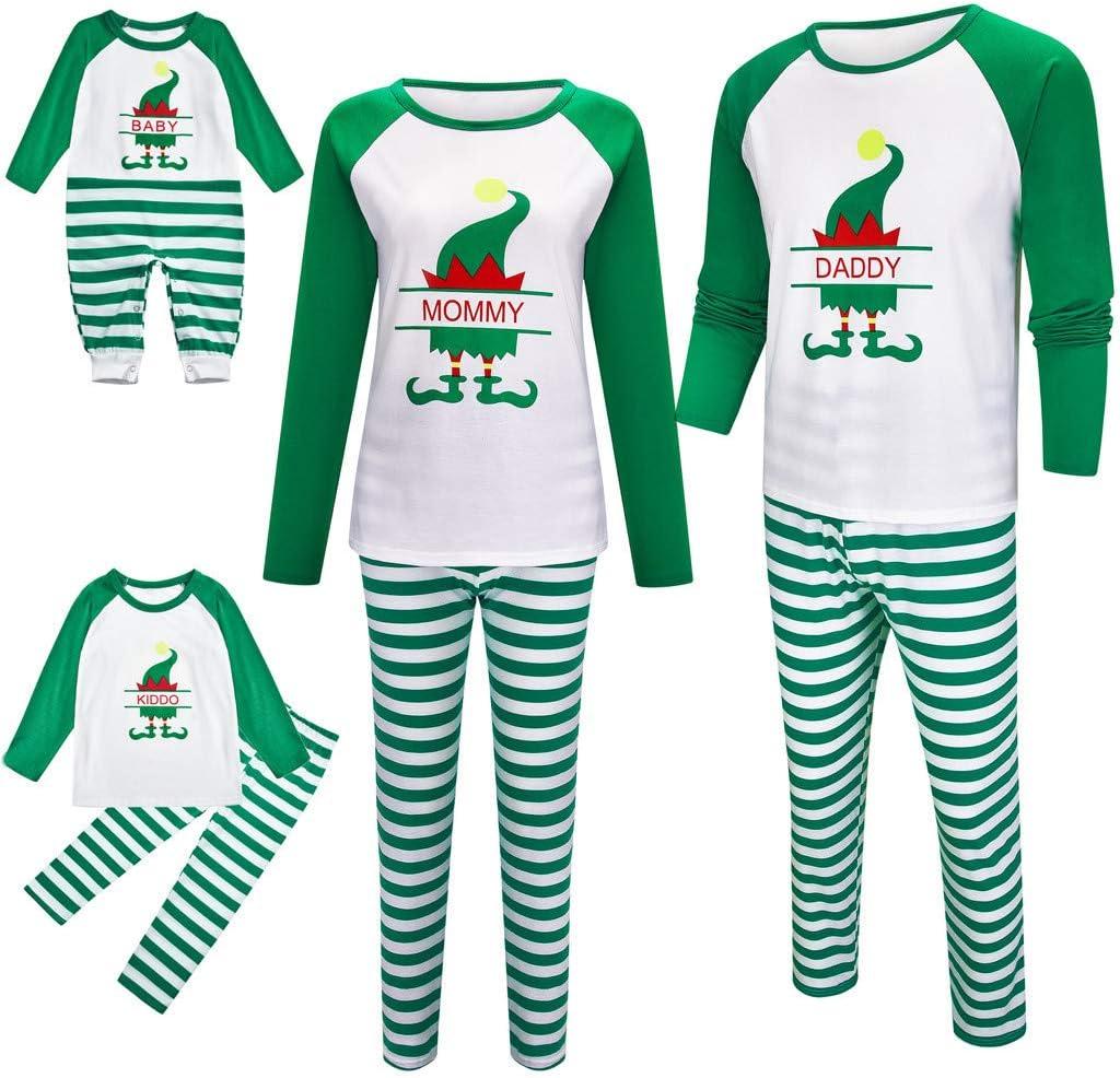 Ohbiger - Pijama de Navidad para niños y niñas: Amazon.es: Jardín