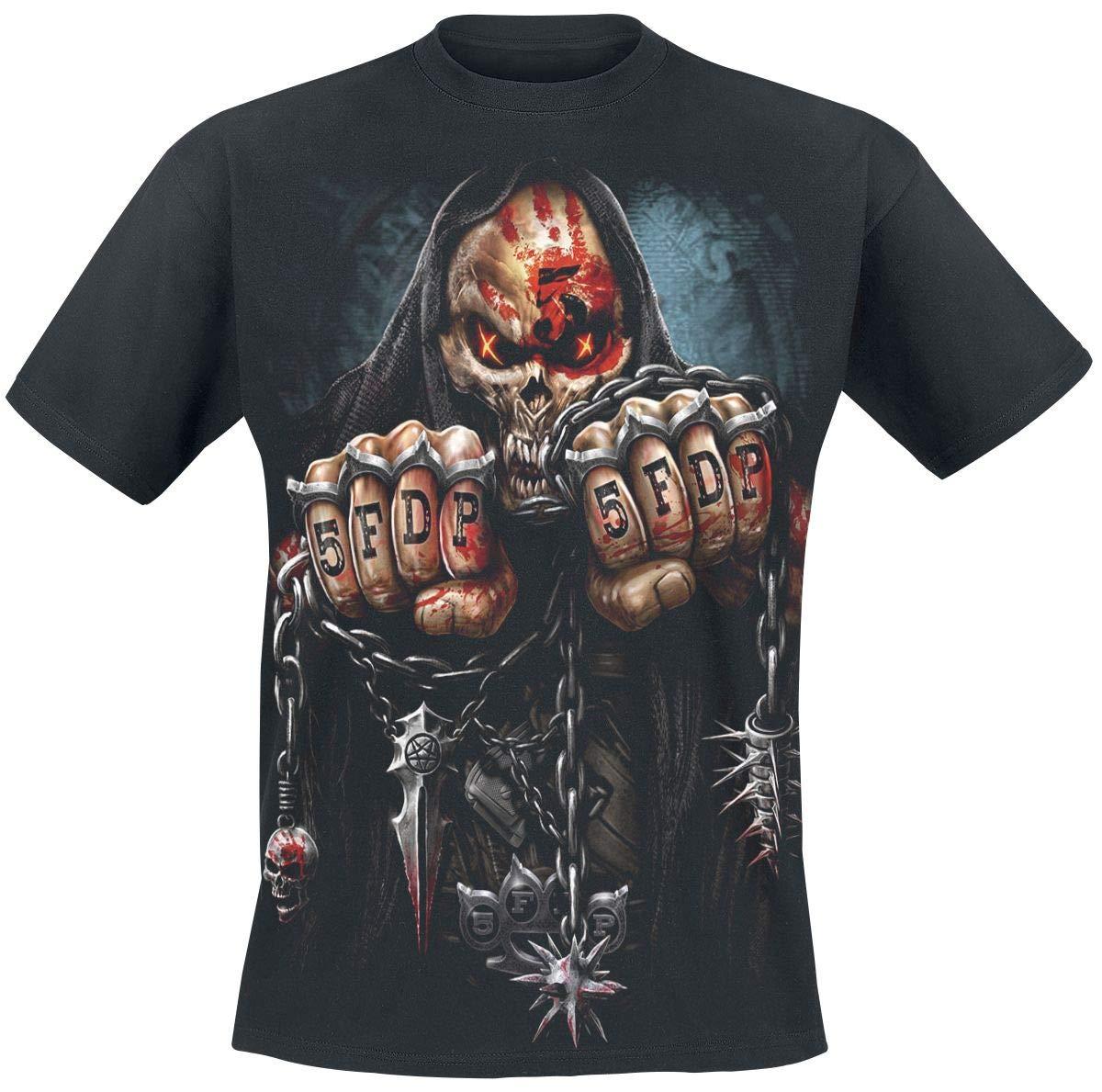 Five Finger Death Punch Game Over T-Shirt schwarz Spiral Direct Ltd.