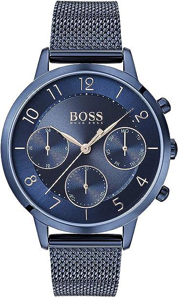 Hugo BOSS Reloj Analógico para Mujer de Cuarzo con Correa en Acero Inoxidable 1502509