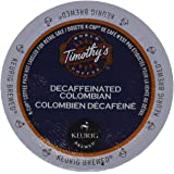 Timothy's Colombian Decaf Coffee Keurig K-Cups, 24 Count