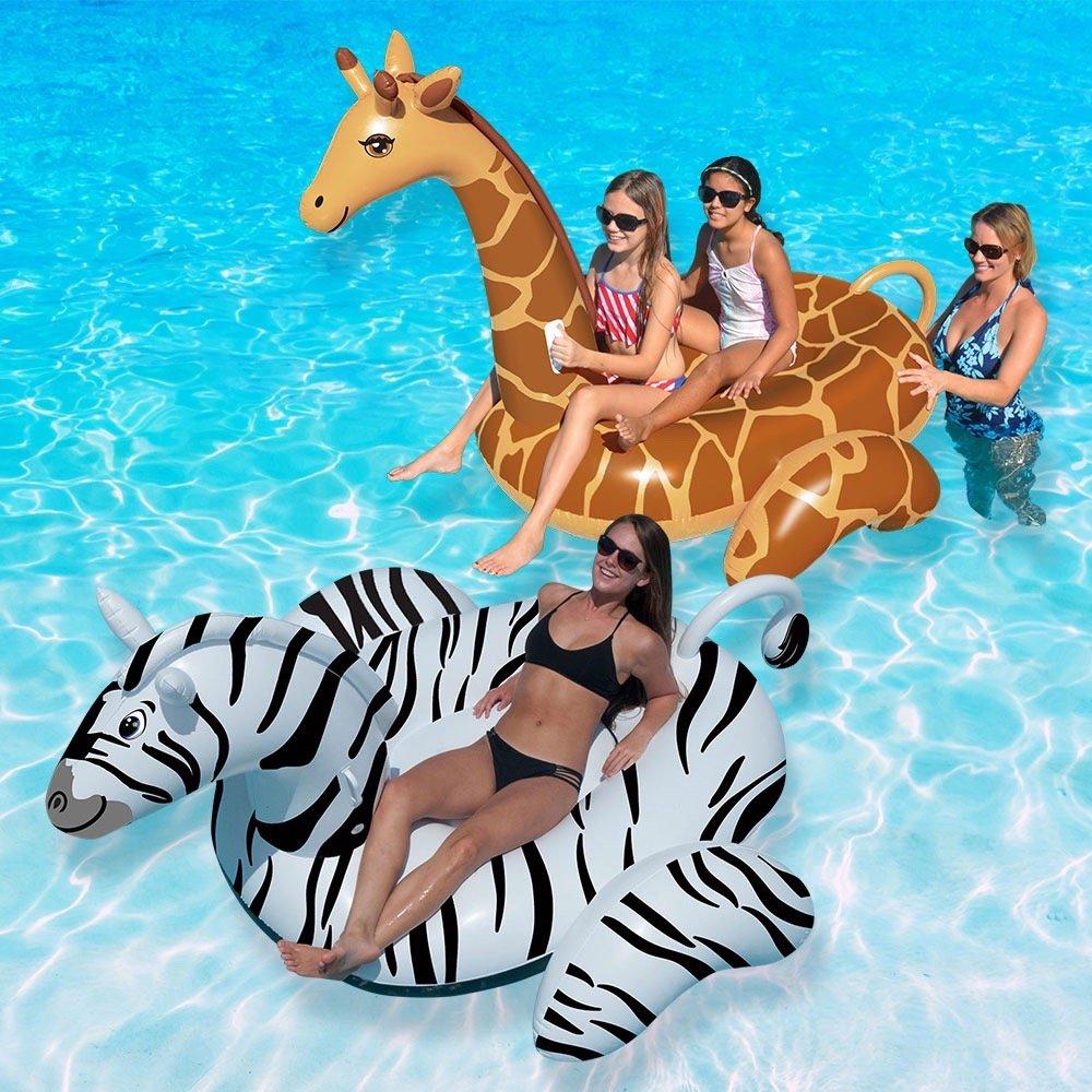 Giraffe and Tiger Robelle Industries Inc.Toys us toys ROEP0 90710-14 Swimline Animal Safari Combo Pack