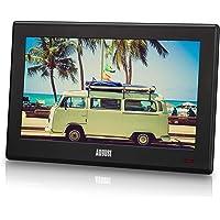 "August DA100D - 10.1"" Portable HD TV with Inbuilt Recorder & Multimedia Player/DVB-T2 MPEG4 H.264 / H.265 - LCD TV…"