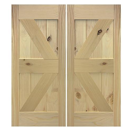Amazon British Brace Swinging Barn Doors Handmade
