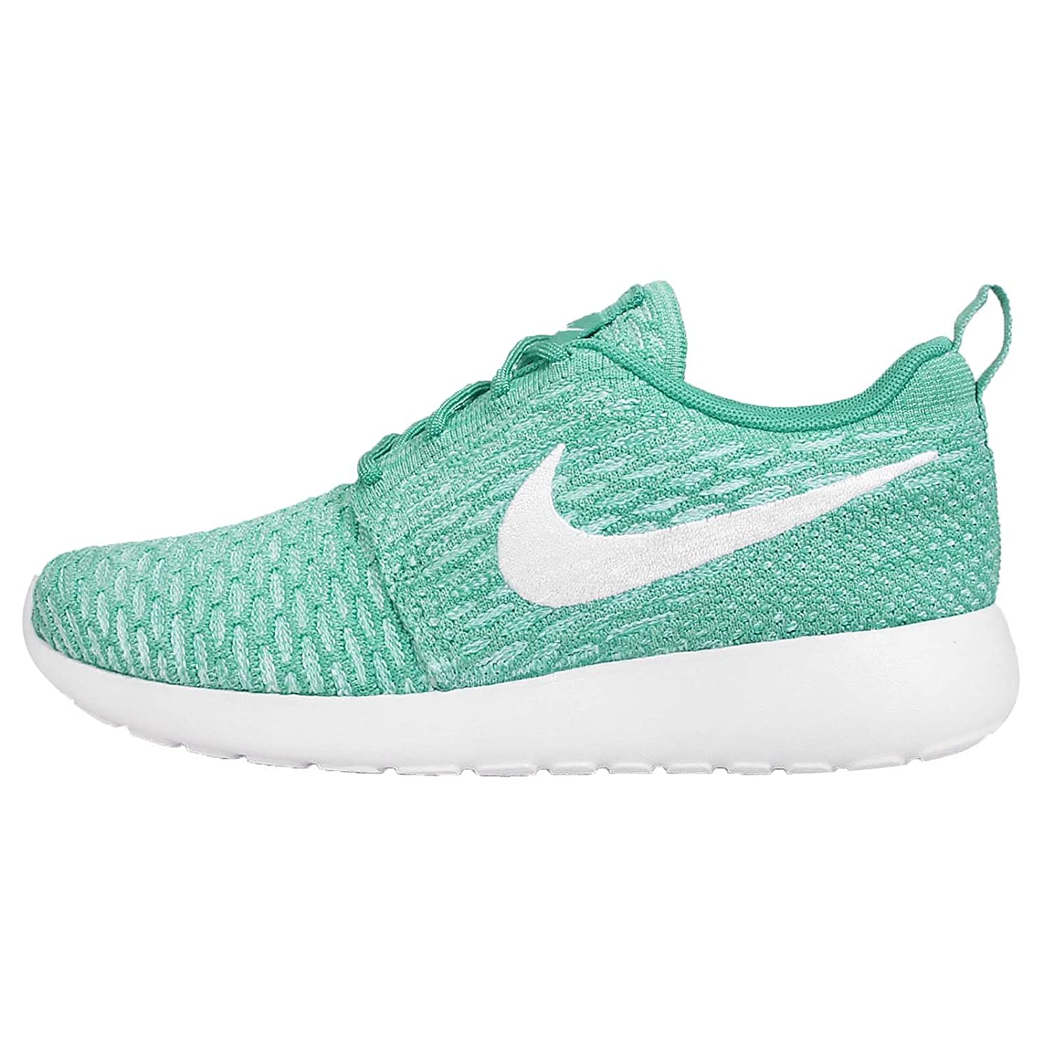 NIKE Womens Roshe One Flyknit Flyknit Colorblock Running Shoes B01MF55FTO 9.5 B(M) US|Blue
