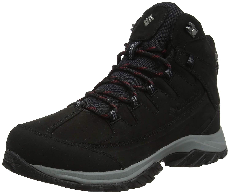 Noir (noir, Lux) 46 EU Columbia Terrebonne II Mid Outdry, Chaussures de Randonnée Hautes Homme